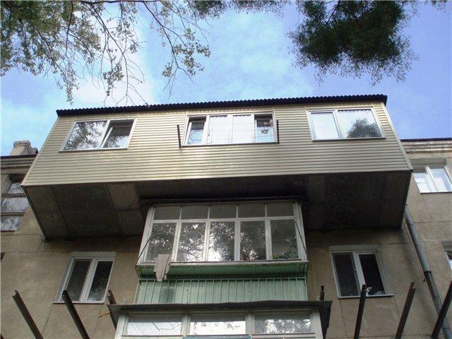 Услуги - вынос балконов.